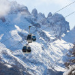 Ski resort Madonna di Campiglio — Stock Photo
