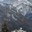 Ski resort Madonna di Campiglio - Stock Photo