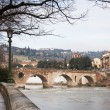 Stock Photo: Verona historic center cityscape