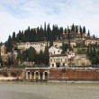 San Pietro Castle, Verona, Italy — Stock Photo