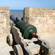 Morocco, Essaouira, fortress, cannon — Stock Photo