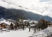 Winter landscape. Dolomiti, Italy — Stockfoto
