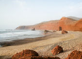 Coast of the Atlantic Ocean. Morocco — Stock fotografie