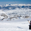Stock Photo: Ski resort Ramsau. Dachstein. Austria