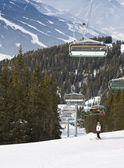 Ski resort Schladming . Austria — Stock Photo
