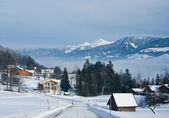 Winter in the alps. Styria, Austria — Stock Photo