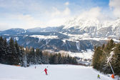 Ski resort Schladming . Austria — Stock Photo