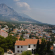 Town on the Adriatic coast of Croatia — Stock Photo