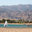 Egypt, Dahab, Sinai Peninsula. Red sea. — Stock Photo