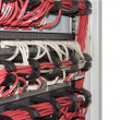 Stock Photo: Structured cabling system