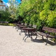 Royalty-Free Stock Photo: Rest area in a park in Wroclaw