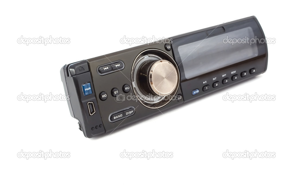 Car audio player — Stock Photo #1074549