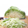 Cabbage. - Stock Photo