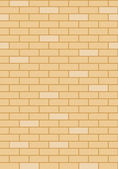 Brick wall, vector illustration — Stock Vector