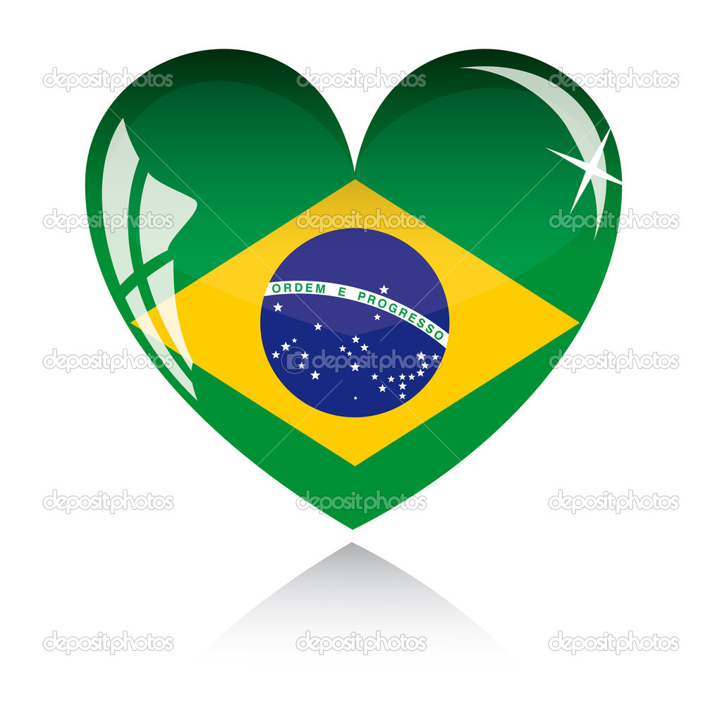 Brazilian Flag Coloring Page