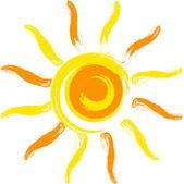 Słońce wektor — Wektor stockowy