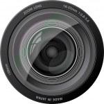 Vector camera lens. — Stock Vector #2332847