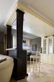 Cozinha interior — Fotografia Stock