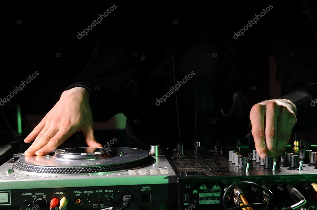 DJ Music night club  — Stock Photo #1071217