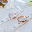 Gold wedding rings — Stock Photo #1097350