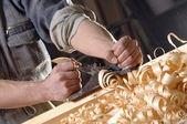Working hands — Stock Photo