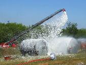 Extinguishing fires — Stock Photo