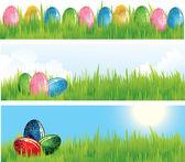 Set of vector easter egg — Vetor de Stock