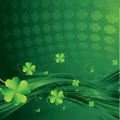 Zelený rámeček — Stock vektor