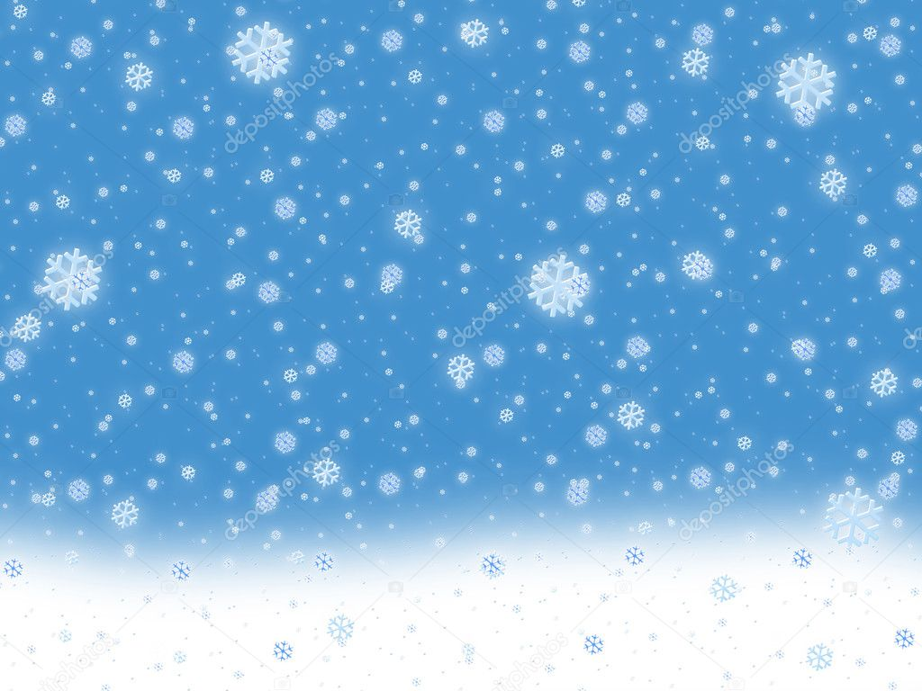 Snow background. Falling ice — Stock Photo #1084582