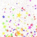Multi-coloured stars — Stock Photo