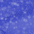 white snowflakes — Stock Photo
