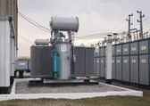 Power transformer — Stock Photo