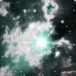 Stock Photo: Congestion of stars