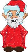 搞笑圣诞老人 — 图库矢量图片