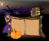 The halloween — Vector de stock