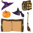 Vector de stock : Halloween collection