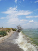 Waves in Dnipro Basin — Stock Photo