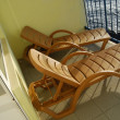 Sun loungers — Stock Photo #1416138