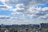 Urban view horizon — Stock Photo