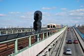 Subway bridge — Stock Photo
