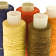 Royalty-Free Stock Photo: Five spools of thread
