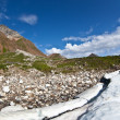 Melting glacier — Stock Photo #1092785