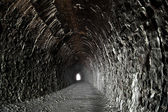 Light in the end of tunnel — Stock Photo