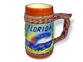 Mug on a white background — Stock Photo