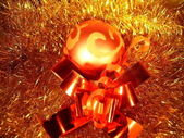 New Year tree decorations — Stock Photo