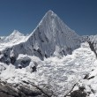 Stock Photo: Summit pyramid panorama