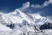 Cho Oyu, the 6th highest mountain in the — Stock Photo