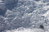 Icefall panorama — Stock Photo