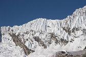 Snow ridge — Stockfoto
