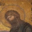 Byzantine mosaic at Hagia Sofia — Stock Photo